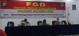 Kegiatan FGD (Focus Group Discussion) 2020 bersama Kepolisian Negara Republik Indonesia Daerah Kalimantan Tengah Resor Kota Palangka Raya